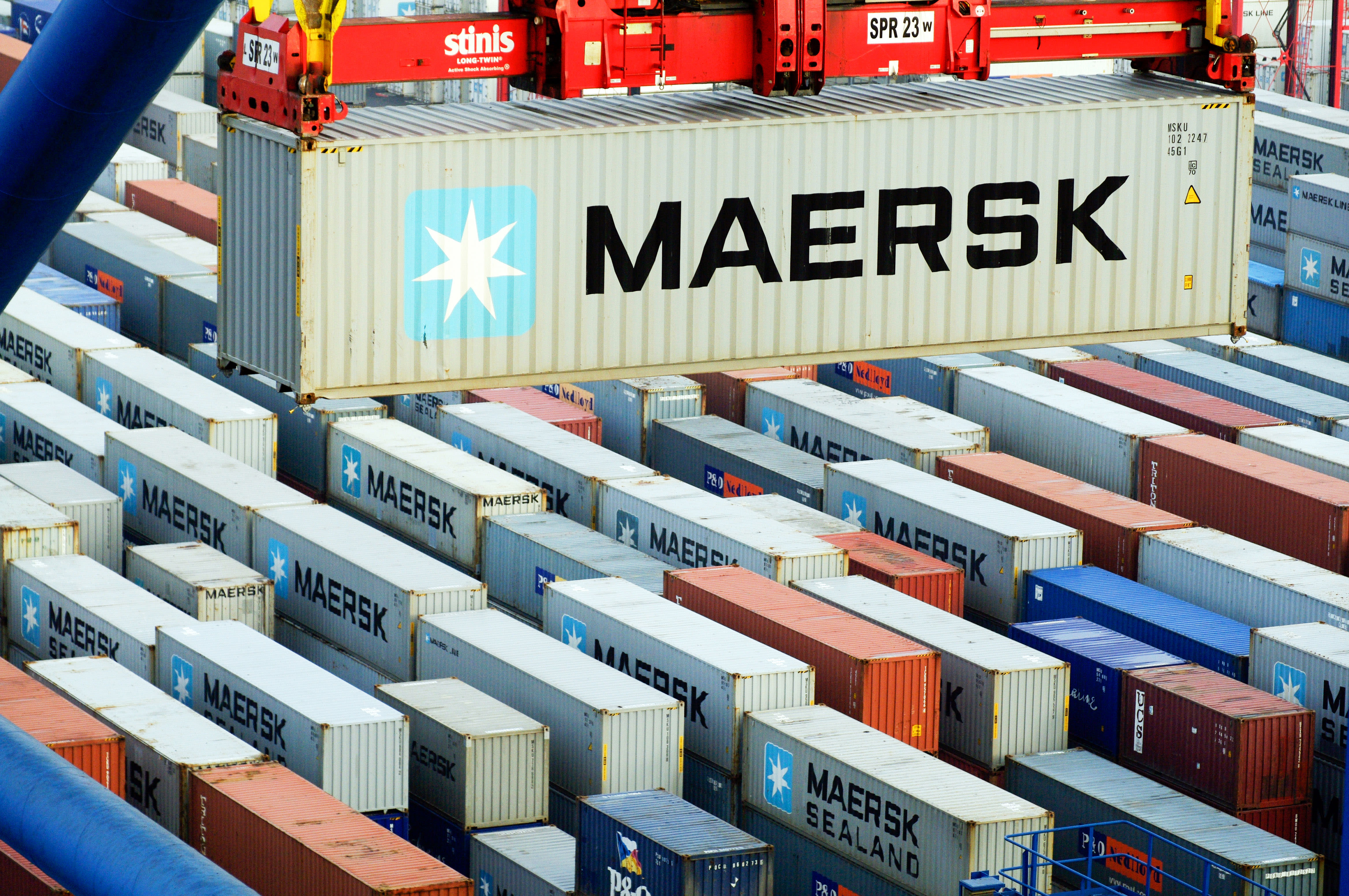 Логістичний гігант Maersk інвестує в цифрову платформу автоперевезень