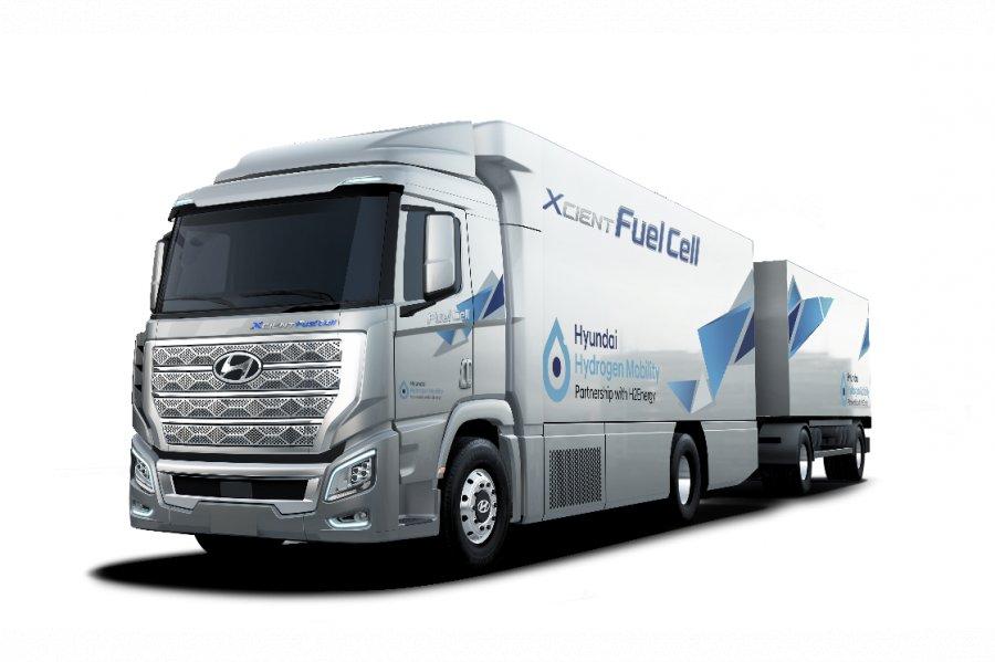 Водневі вантажівки Hyundai вже у Швейцарії