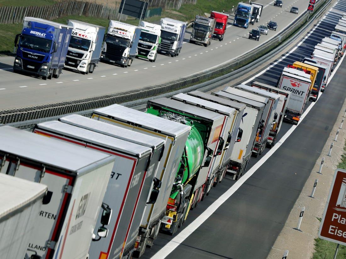 Вантажні перевезення в Європі перевищили рівень, який був до COVID-19