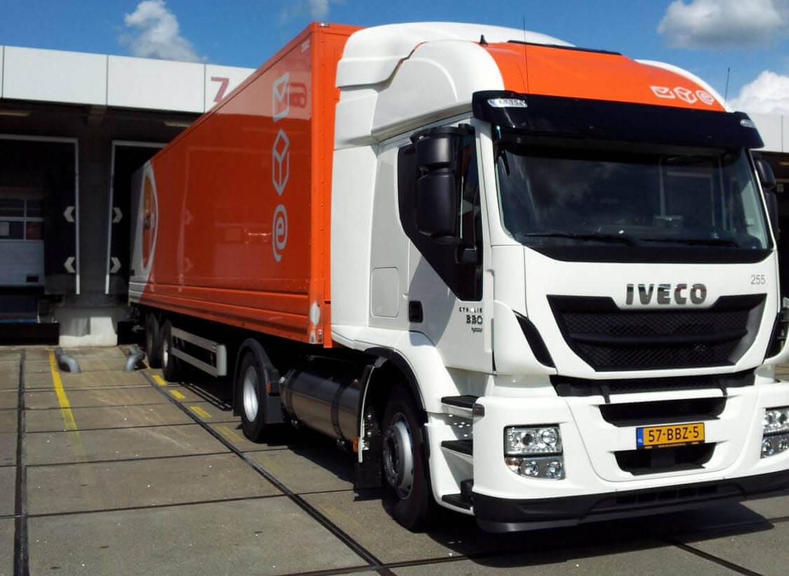 Вантажівки Пошти Нідерландів – на старій олії з McDonalds