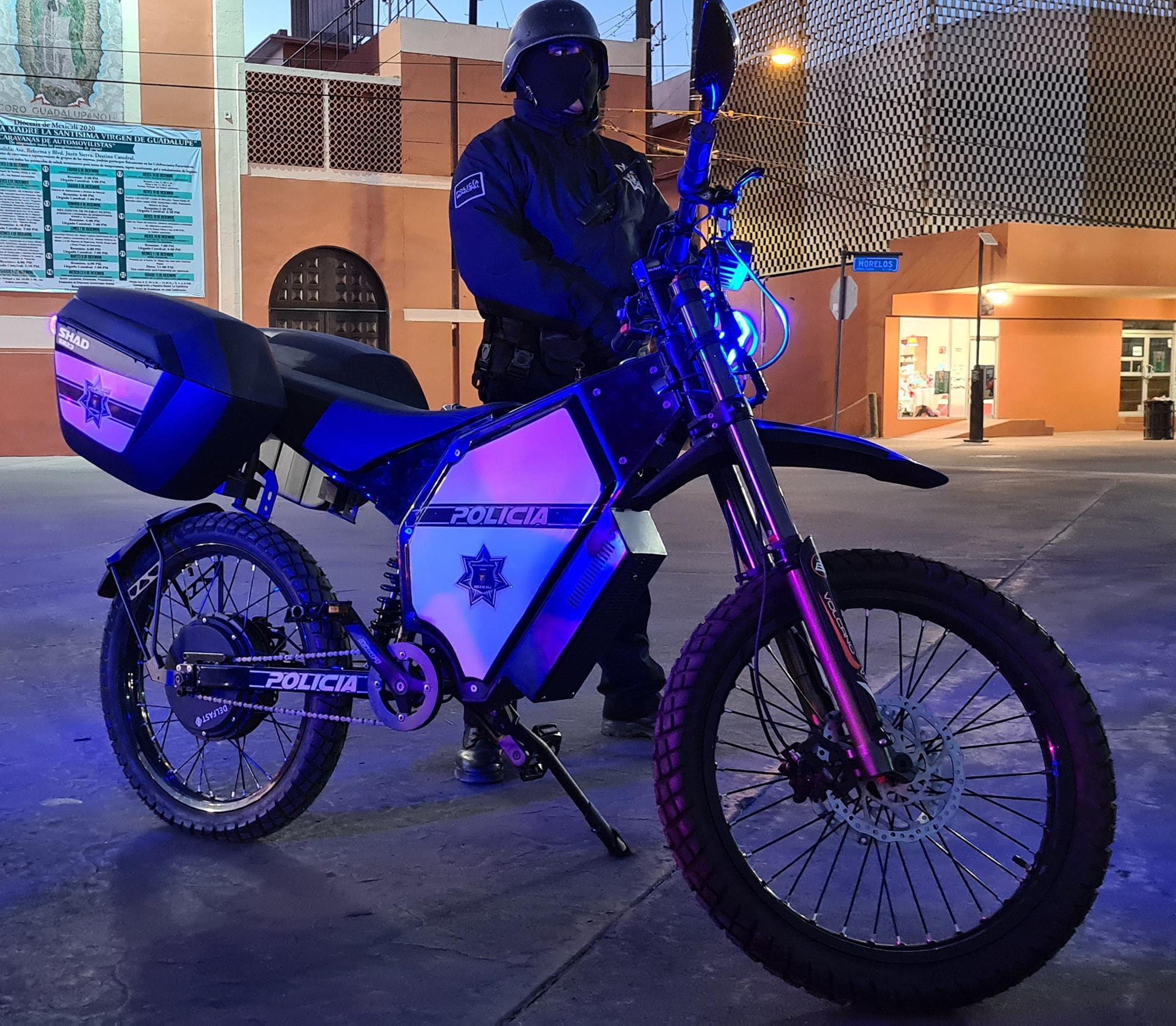 Поліція в Мексиці почала випробування українських електровелосипедів