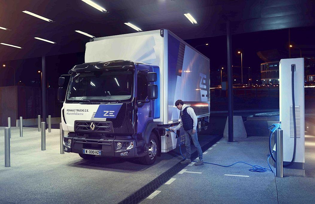 ЕлектричніRenault Trucks – уже до 400 км на одному заряді