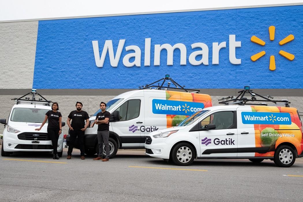 Після Нового року Walmart запустить повністю автономні автофургони