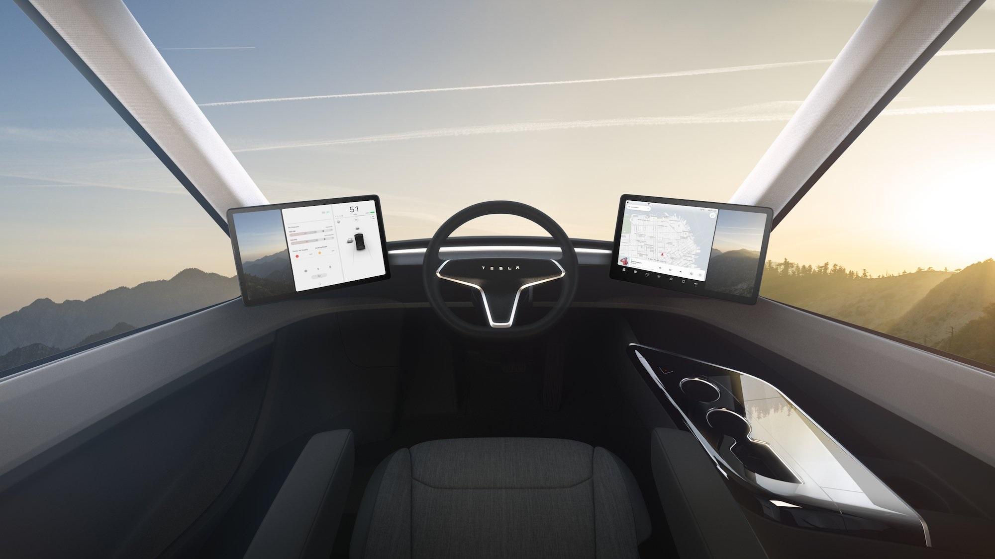 Запас ходу Tesla Semi збільшать. Буде до 1000 км