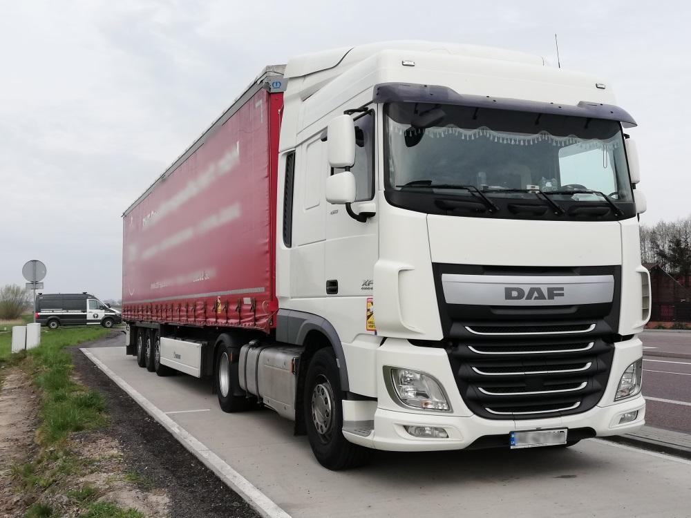Прибрав вантажівку на... 1,8 тисячі євро штрафу