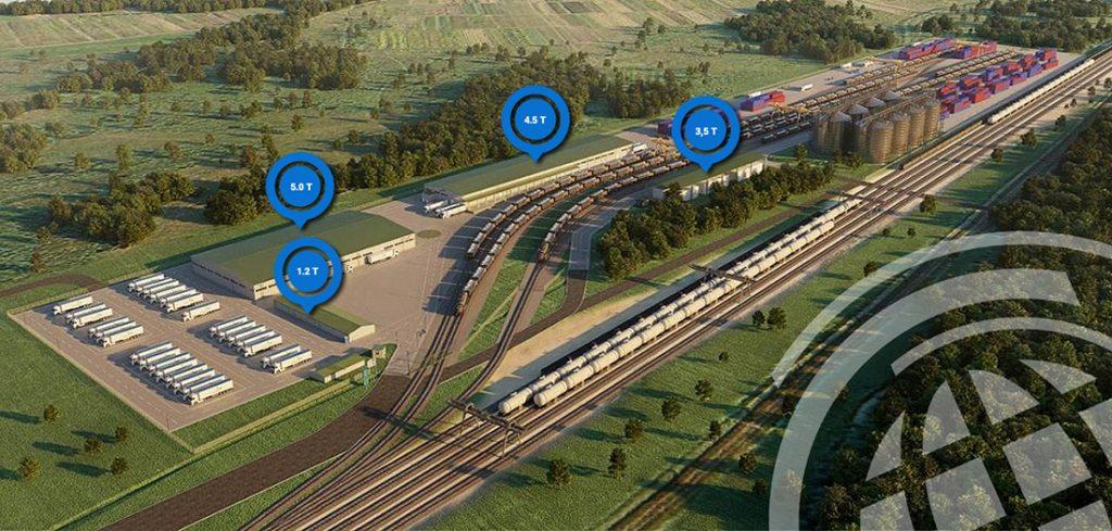 Новий контейнерний термінал на кордоні з Польщею
