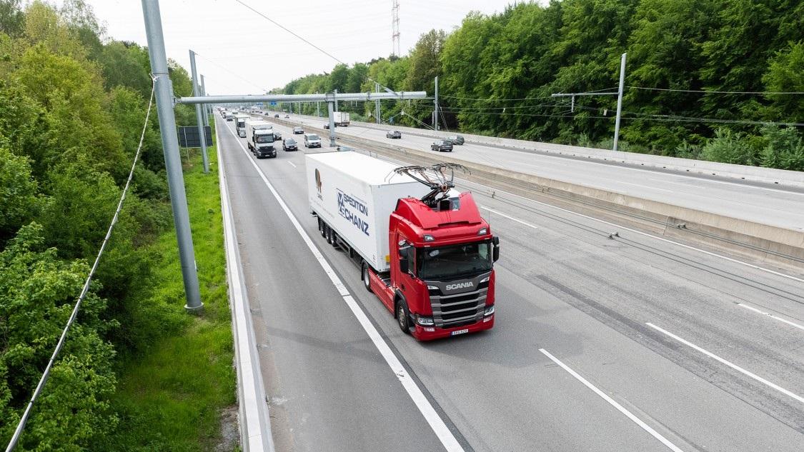 Siemens перетворила ще одну трасу в Німеччині на eHighway