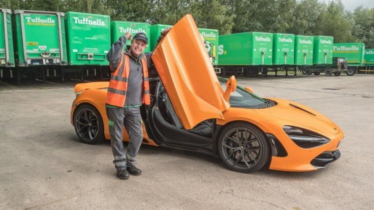 Далекобійник виграв у лотерею суперкар McLaren