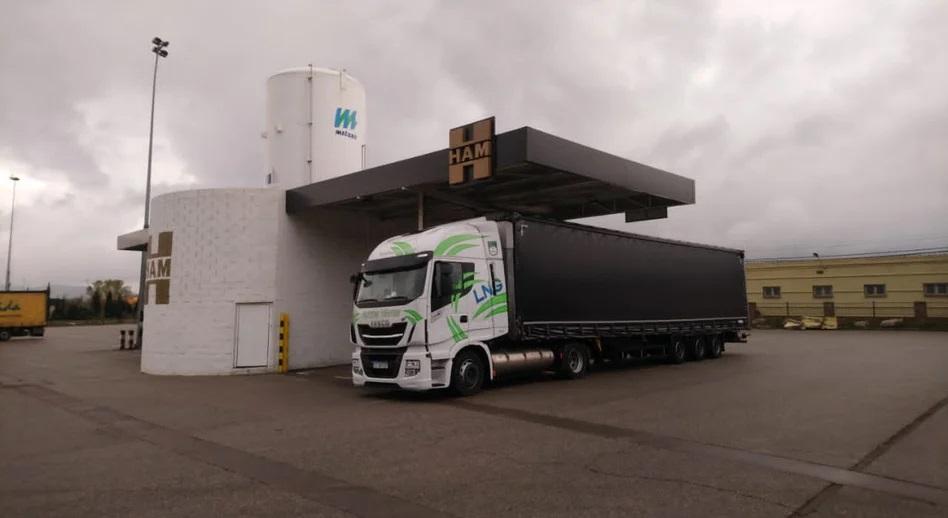 У Європі стрімко зростає продаж вантажівок на газі