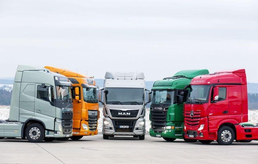 Продажі тягачів у ЄС зростають 8 місяців поспіль